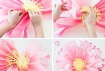 DIY ✄ Flowers / DIY Flowers with Paper, Sewing, Crochet, Knitting and more...
