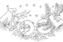 Stitch ✄ Holidays | Seasons / Holiday and Seasonal Patterns for Embroidery and Applique
