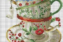 Stitch ✄ Cross Stitch / Cross Stitch Patterns and Stitches