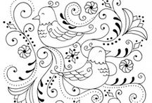 Stitch ✄ Animals / Embriodery and Applique Animal Patterns