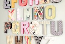 Crafty Crafts: Letters / by Cami Butterworth