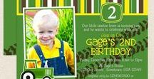 John Deere Tractor Birthday / Tractor Themed Birthday Parties