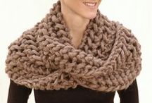 Crochet | Knit ✄ To Wear / Crochet and Knitting patterns for Scarfs, Hats and other Accesoires