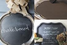 Crafts: Chalkboard Paint / by Elizabeth Nyberg