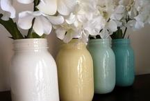 Crafts: Jars & Bottles / by Elizabeth Nyberg