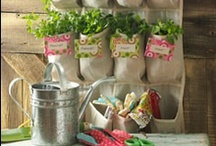 Gardening ✿ Herbs / All about Herbs in the Garden