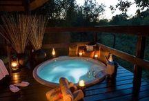 Outdoor ✿ Spa | Kitchen / Outdoor Pool | Jacuzzi | Shower | Bath | Kitchen