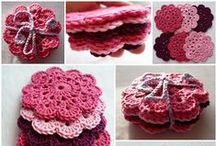 DIY ✄ Coasters | Potholders / DIY Coasters, Potholders, Trivets, Mug Rugs, Table Runners and Placemats...