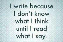 Write / Writing