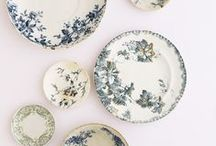 blue&white dream dishes