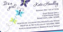Butterfly Themed Baby Shower / Butterfly themed baby shower and nursery ideas.