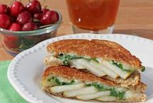 Sandwiches, Wraps, Paninis and Quesadillas / Flavor galore Interesting combos Easy lunch ideas Great use for leftovers (ex how to use thanksgiving leftovers!)