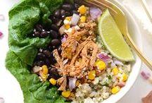 Tacos & Enchiladas / Healthier versions Fish tacos Classics Yummy sauces