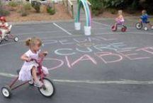 Trike-a-thon / Preschool fall fundraiser: the trike a thon includes a bake sale and a helmet fitting