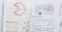 Bullet Journal Tips and ideas / Bullet Journal inspiration and tips