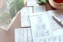 Tarot reading and journaling