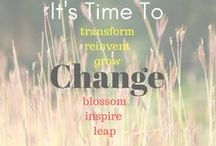 Change - My Word for 2018 / My word of the year for 2018