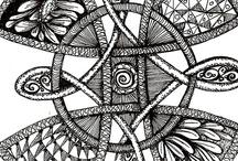 zentangles - doodles / by Susan Oquinn