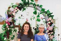 Darling Vendor Family / Past and present vendors who have added their beautiful presence at our wedding fairs xxx