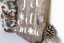 Noel / Petites décorations pour la maison et les cadeaux