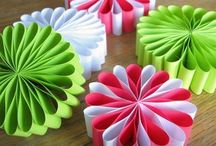 Papercraft Ideas / Inspiration for other ideas using paper and card