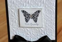 Sympathy Card Ideas / Inspiration for making stylish sympathy cards