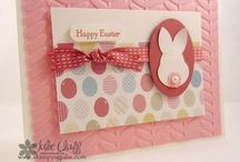 Easter Card Ideas / Inspiration for making Easter cards