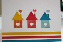 New Home Card Ideas / Inspiration for making cards to welcome someone to their new home