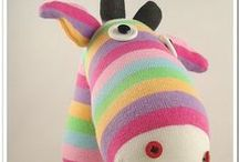Sock Animal Ideas / Inspiration for making things from socks