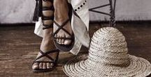 The Art of Sandals / Gladiators, wedges, flats, lace-ups, there's a sandal for every style and every occasion.