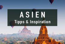 Asien Reisen | Asia Travel Inspiration / Die besten Tipps & Inspiration für Reisen nach Asien