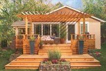 Backyard deck, etc / by Charlie Jaynes