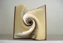 Book Folding Ideas / A collection of book folding ideas for when I need some inspiration
