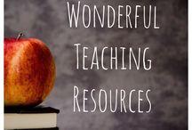 Teaching Resources / Wonderful Teaching Resources