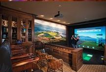 Man Caves / Ideas for the modern man cave...