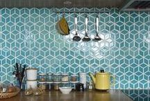 Tiles, Tiles, Tiles / Stunning tiles, clever tile designs and spectacular spaces...