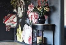 Artistic Feature Walls / Gorgeous art for your home and incredible feature walls incorporating art into your home design