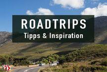 Roadtrips - Inspiration & Routen / Die schönsten Roadtrips der Welt - Inspiration für deine nächste Reise. Egal ob Auto, Motorrad oder Bus.