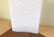 Animal Themed Embossed Card Packs on Etsy / Embossed cards with an animal theme that I produce and sell on Etsy. Click and save 10 percent now with coupon code PIN10