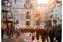 Teaching Resource Bargains and Bundles / Teaching resource bargains, sales and discounts!