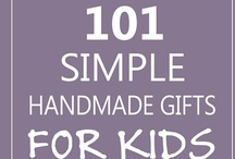 DIY Gifts for Kids / Lots of handmade gift ideas for kids with tutorials, tutorials, and more tutorials! / by Everything Etsy