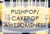Push/Cake Pop Awesomeness / The name says it all... / by Not Just A Mommy