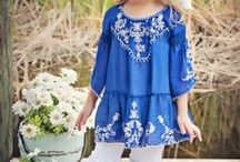 Sweet Clothing for Little Girls & Boys /  creative clothing for little people / by JoyAnna -- Brenda & Kristi
