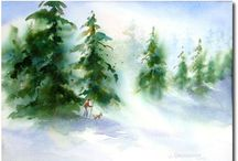 Art - Watercolor Painting Beginners / by Carol David