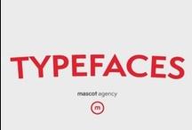 type / typography we like