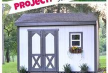 Exterior Projects / Painting ideas and DIY projects for your home exterior and outside in general