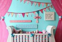 Noteworthy Nurseries / Make your nursery noteworthy with these painting ideas and DIY projects