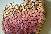 Cork & Wine Bottle Projects / Make use of your inner Wino. Wine bottle and cork project ideas to inspire you.