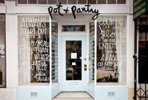 Exteriors / Shopfronts, signage, displays, etc. / by Love Design Life