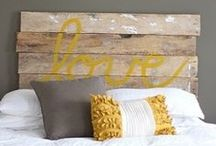 Breathtaking Bedrooms / Painting ideas and DIY projects to take your bedroom from bland to breathtaking
